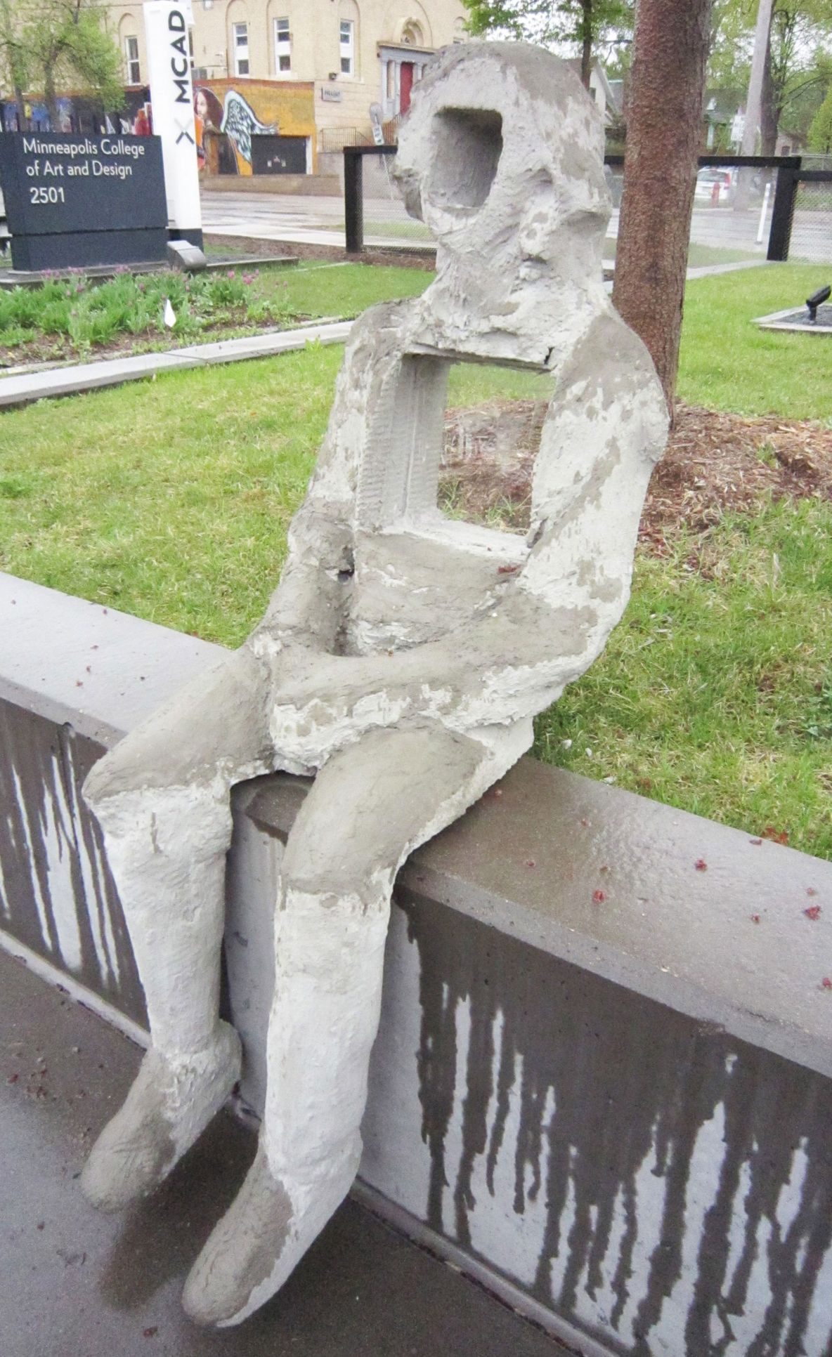 Human Sculpture ; Zachary North