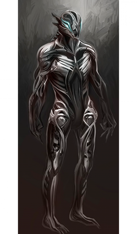 Character design in armor ; Trina Zabel