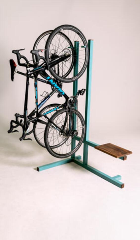 Apartment Bike Rack ; Peyton Woller