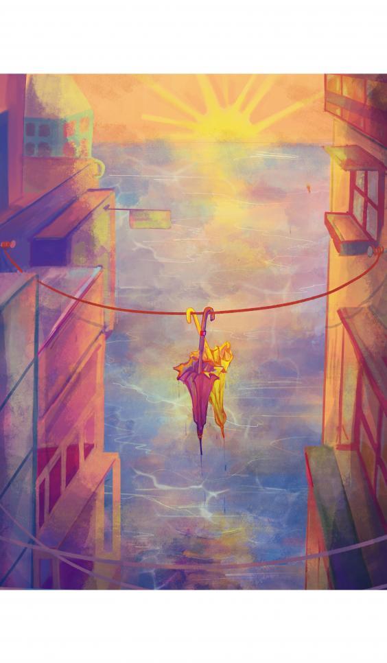 I Can Be Your Umbrella by Ngan Huynh ; Ngan Huynh