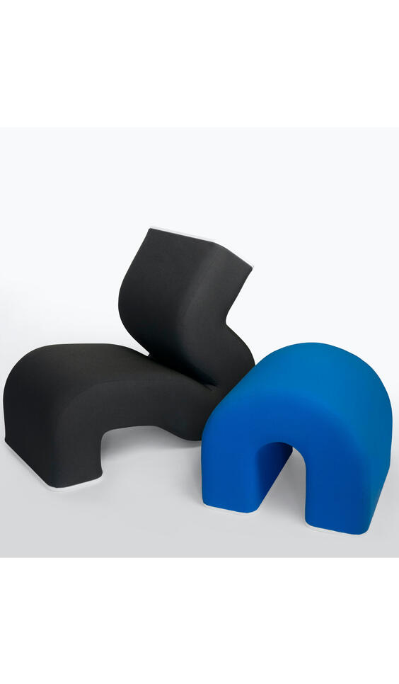 Black and Blue Furniture Design ; Merick Reed
