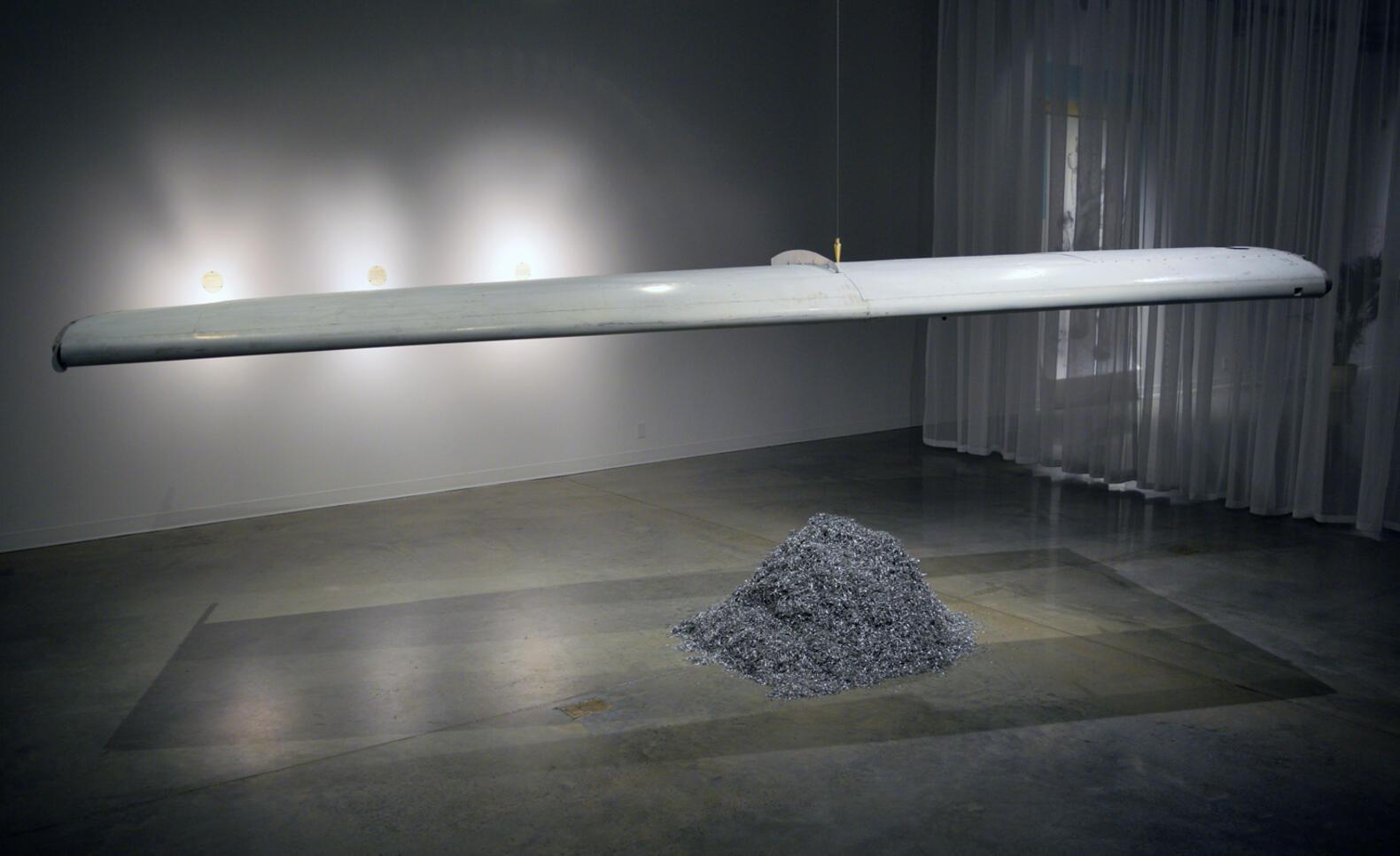 Sculpture installation ; Nooshin Hakim Javadi