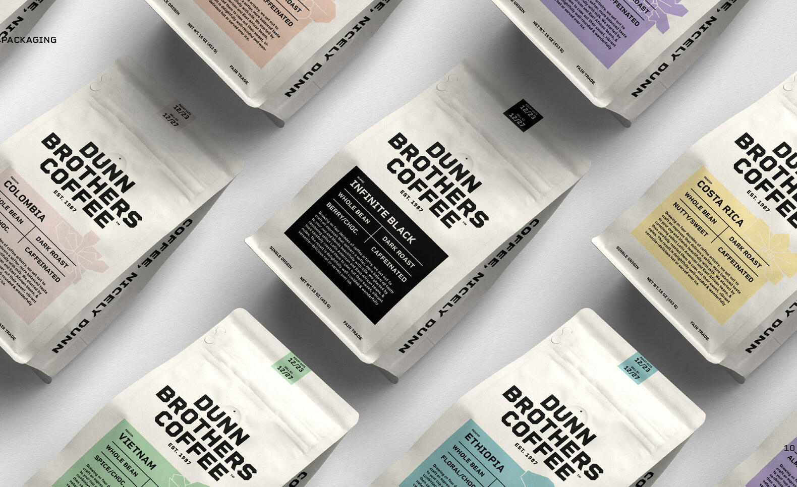 Identity Graphic Design Project of Dunn Brothers Coffee ; Artur V. Un