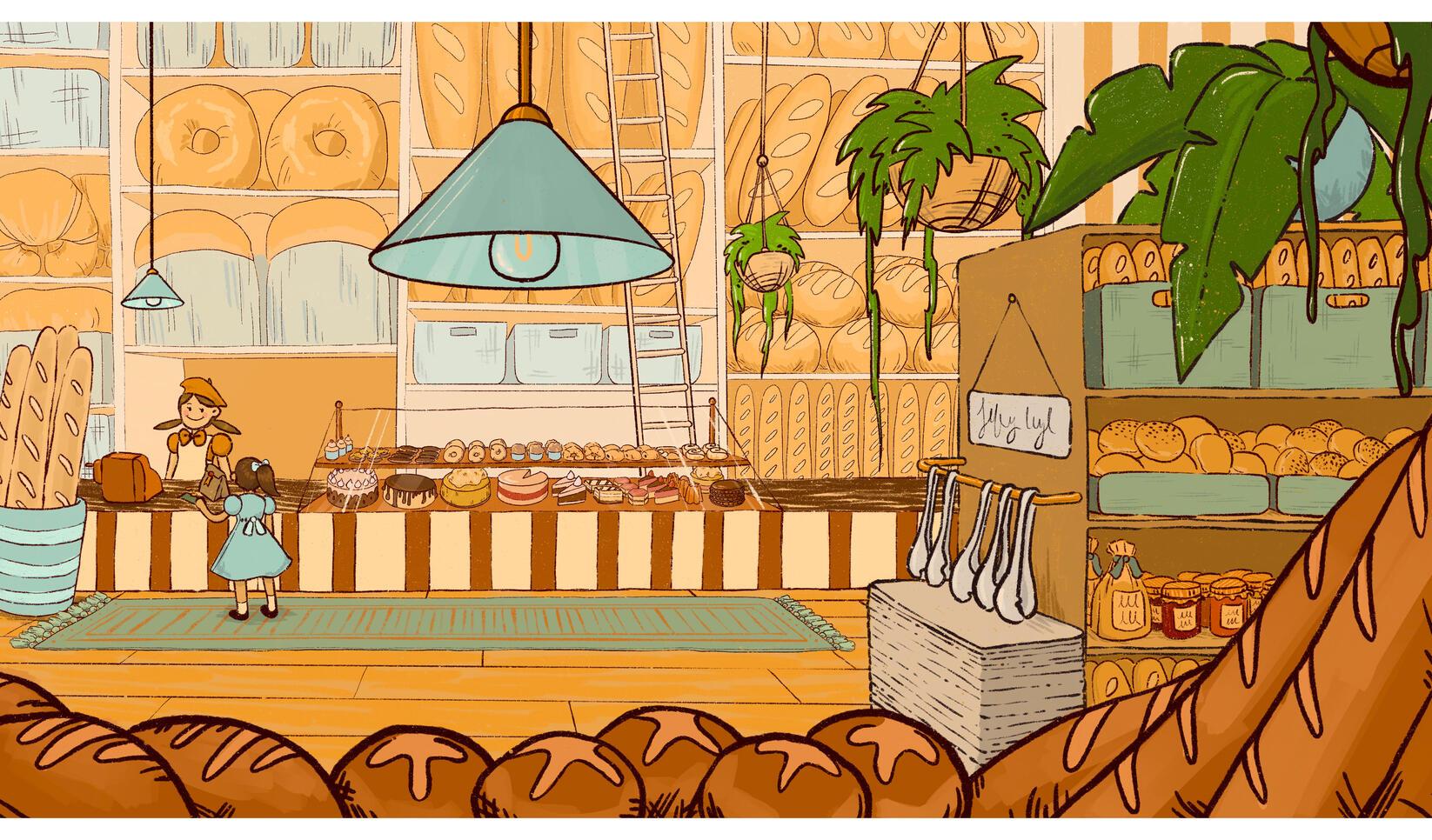 Playground illustration by Tristyn Hyatt ; Tristyn Hyatt