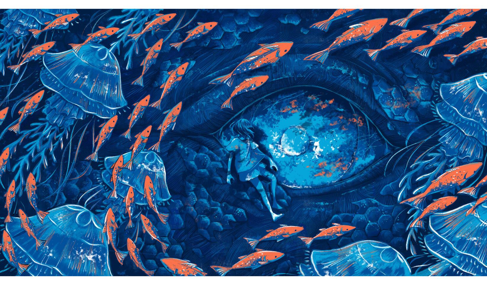 Playground illustration by Eri Iguchi ; Eri Iguchi
