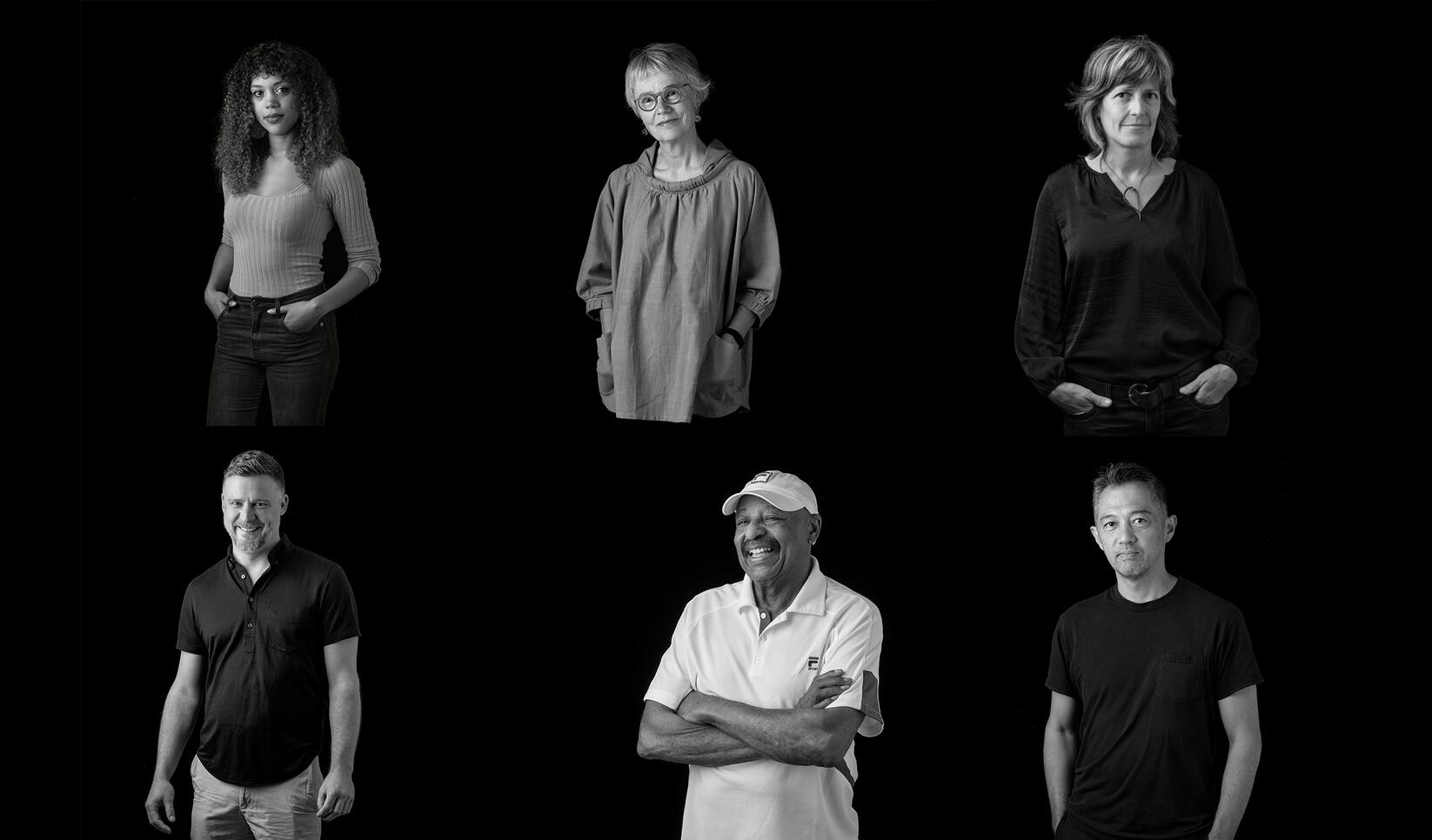 Portraits of the 2019 McKnight fellows