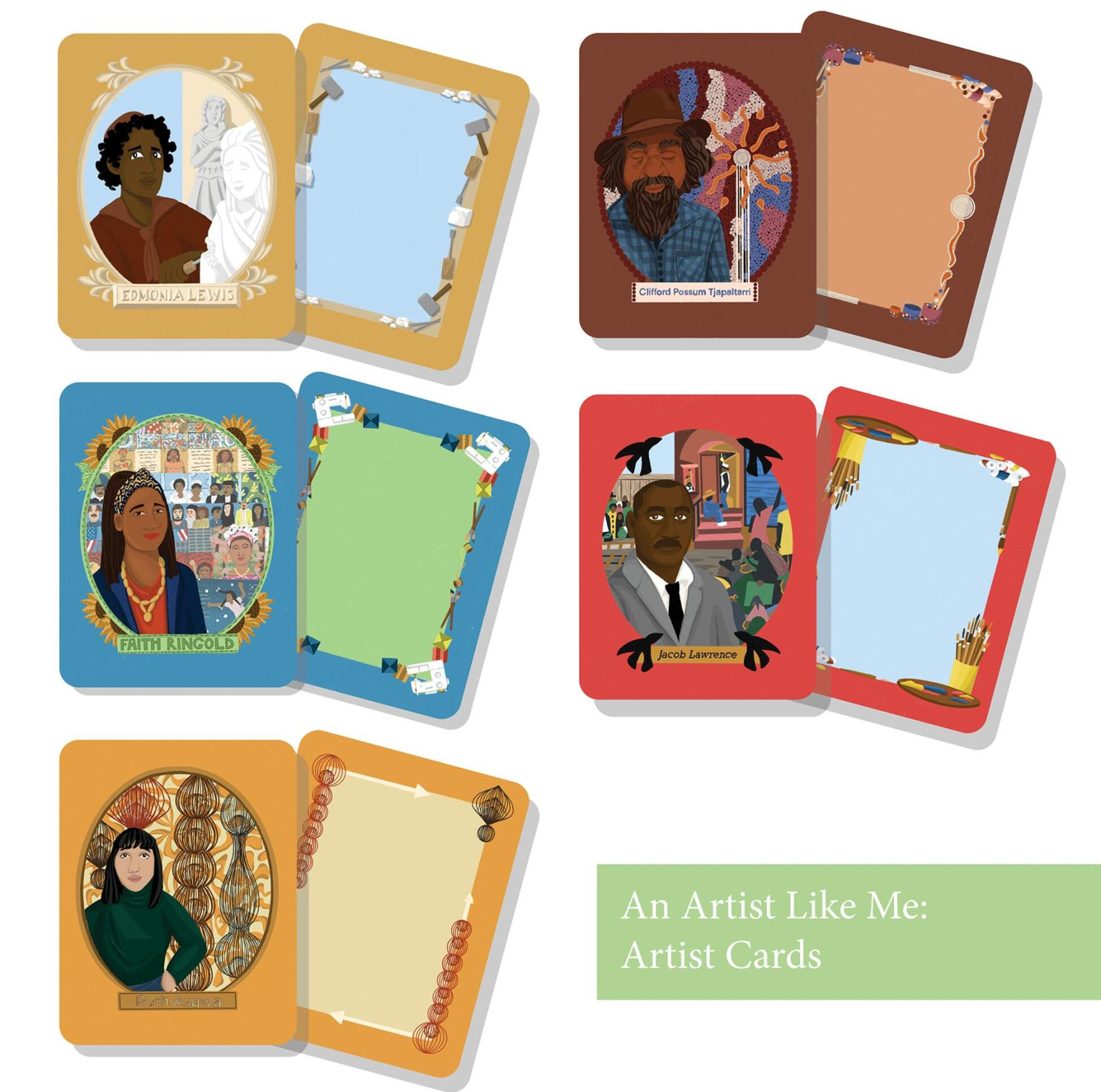 An Artist Like Me (Card Designs) by Lily Wendt ; Lily Wendt