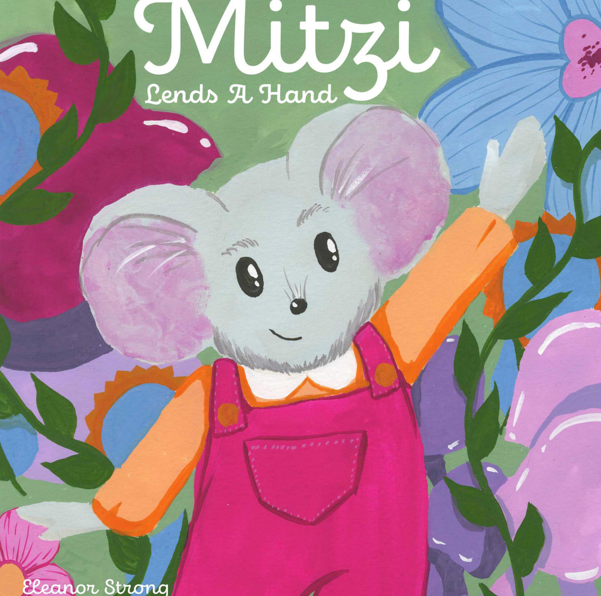 Mitzi Lends a Hand (Cover) by Eleanor Strong ; Eleanor Strong
