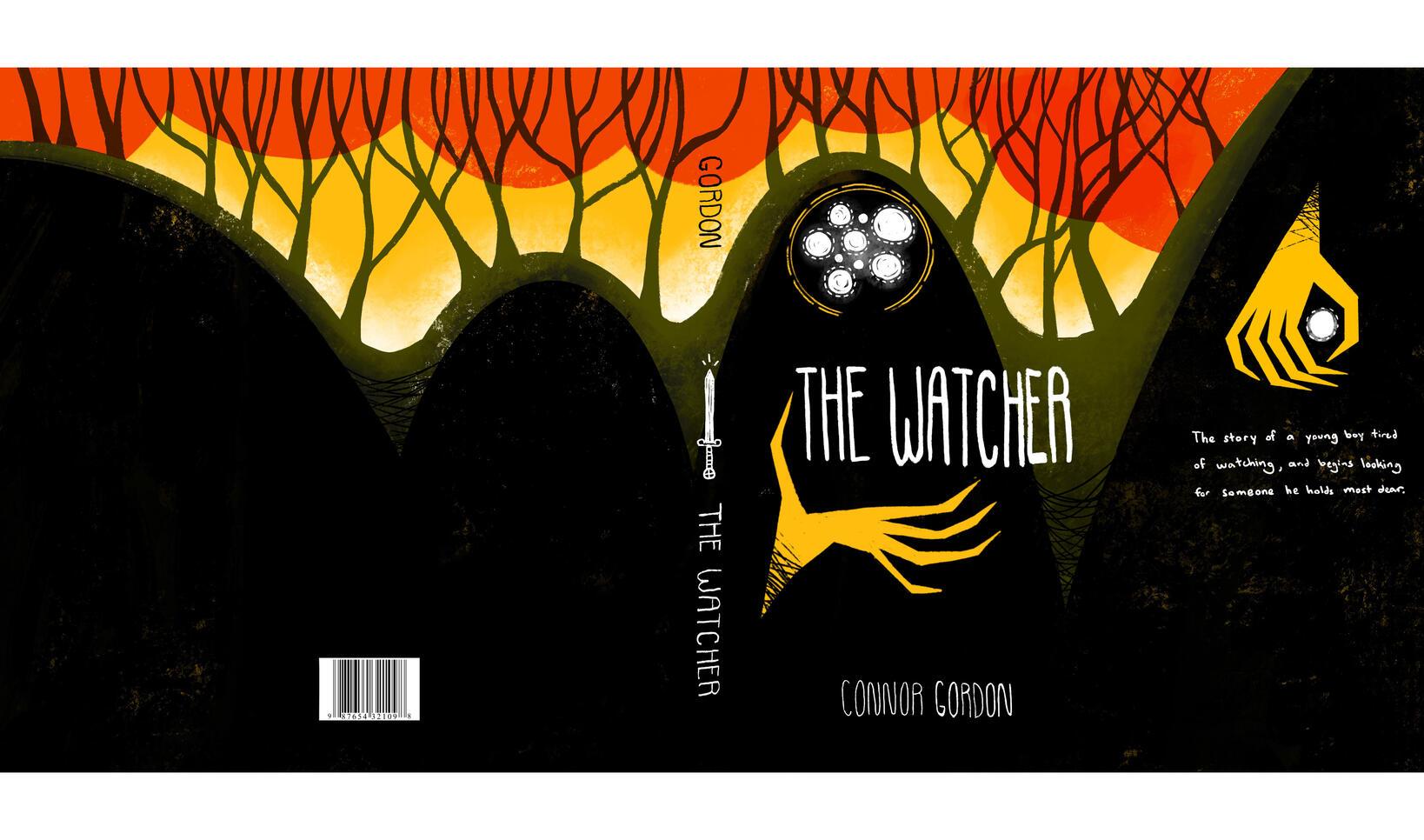 The Watcher Dust Jacket by Connor Gordon ; Connor Gordon
