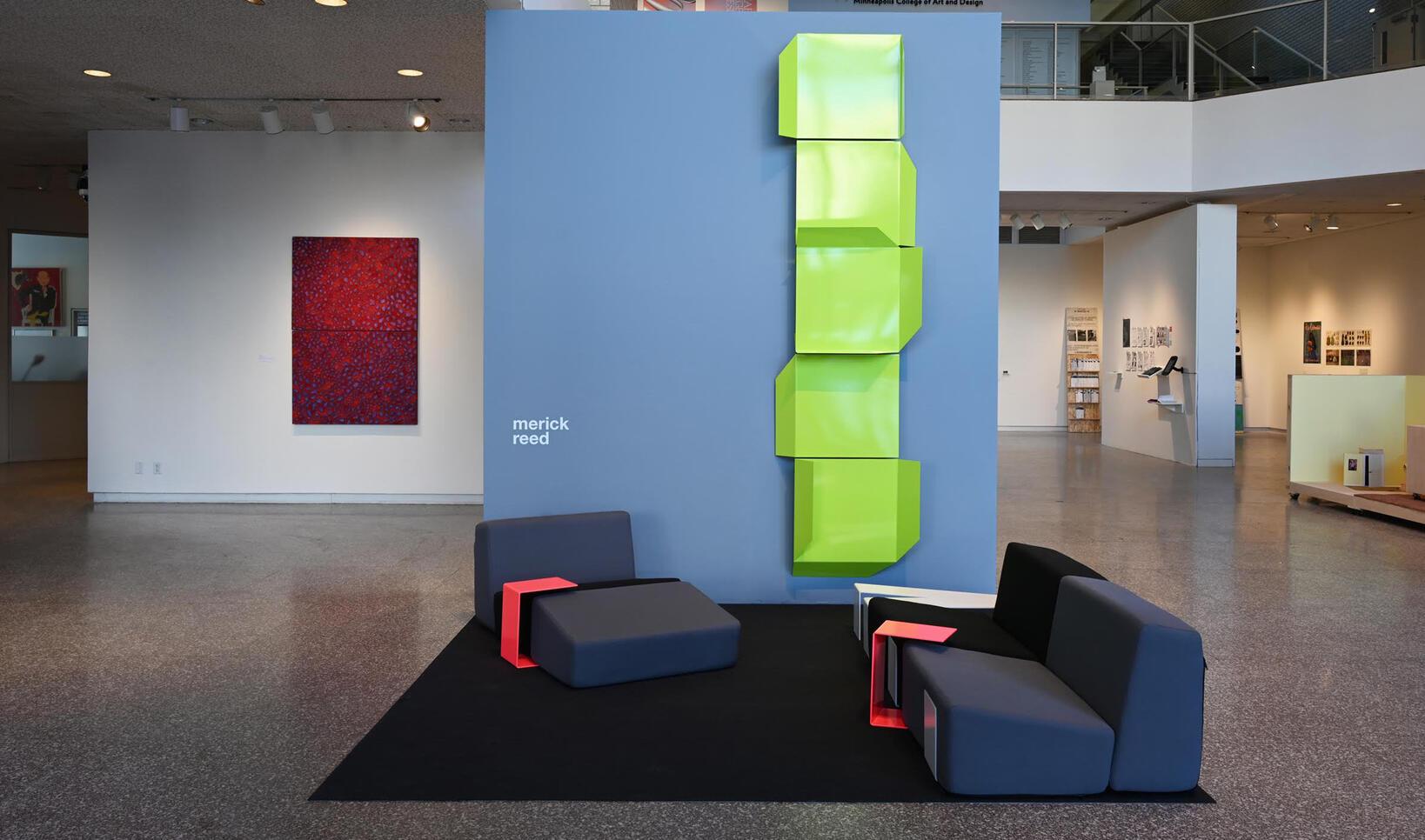 System Furniture Display ; Merick Reed